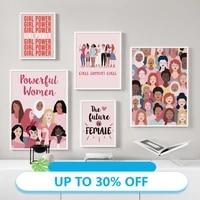 Toile de decoration de noel  affiches  femmes dans le monde de la mode  tableau dart mural pour decoration de salon  decoration de maison