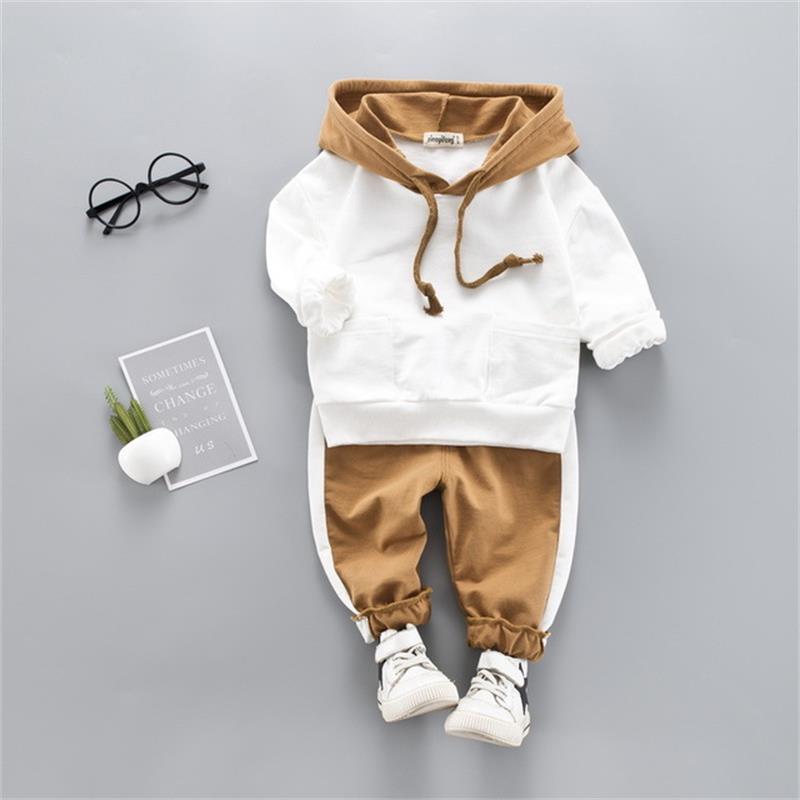 Ensembles de vêtements dautomne pour garçons   De bonne qualité, tenue de Sport pour garçons et enfants, costumes à manches longues pour bébés filles