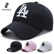 Casquette unisexe style LA Dodgers   Casquettes de Baseball avec motif de lettres, chapeaux à broderie Hip Hop en os pour hommes femmes, Casquette Gorras réglable