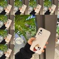 corgi phone case transparent for vivo y 97 93 85 81 75 73 71 70 69 67 66 55 53 50 52 51 30 20 19 11 s e mobile bags