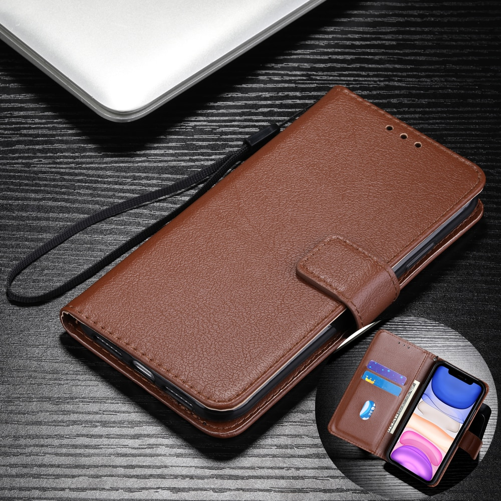 Leather Wallet Case for Xiaomi Redmi Note 10 Pro Max 9 8 7 6 5 Pro 4X 4 10S 9S 9T Protect Cover for