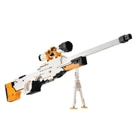 2035pcs modern military blaster weapon submachine blaster building blocks toy block assembly educational toys gifts orange
