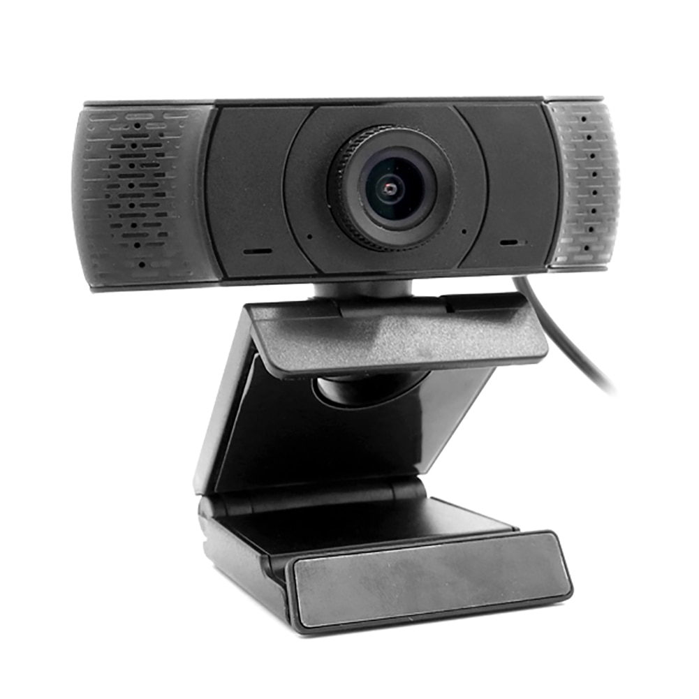 1080P HD Manual Focus Webcam 2MP Video Calling Recording Camera USB Free Driver Build in Microphone for Gaming Conferencing