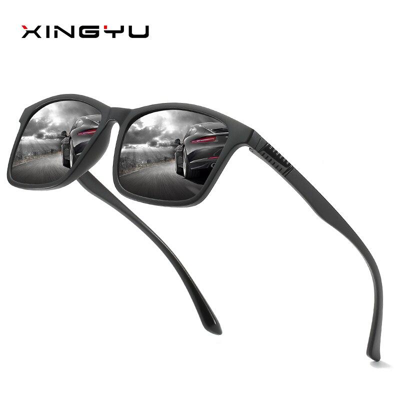 XINGYU TR оправа Легкие мужские/женские мужские солнцезащитные очки поляризованные качественные очки прямоугольные солнцезащитные очки для в...