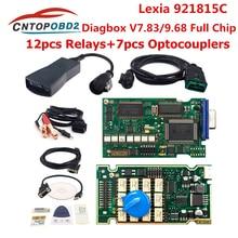 Lexia 3 PP2000 Volle Chip Diagbox V 7,83 mit 921815C Firmware Lexia3 V48/V25 lexia-3 Für Citroen Für Peugeot auto Diagnose Werkzeug