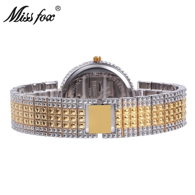 Ladies Diamond Full Diamond  Designer Brand Luxury Women Watch Phoenix Bird High-End Wrist Watch Free Shipping Woman Gold Watch enlarge