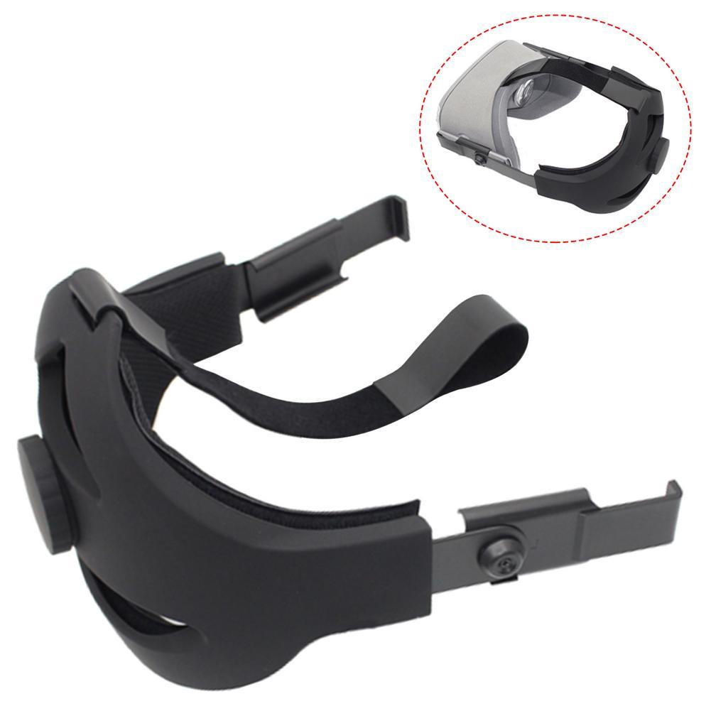 قابل للتعديل VR شريط للرأس ل كوة كويست VR اكسسوارات مريحة عدم الانزلاق replalالاسمنت عقال تحديد حماية الشريط
