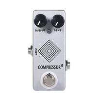 mosky b box dynacomp electric guitar effect pedal compressor true bypass led light true bypass full metal shell guitar parts