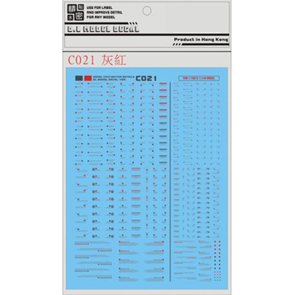 1 set Decal for DL Gundam BWR Detail Up Water Slide Paste Sticker