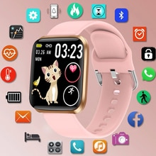 LIGE New Smart Watch Women Heart Rate Blood Pressure Monitoring Fitness Tracker Is Suitable For Andr