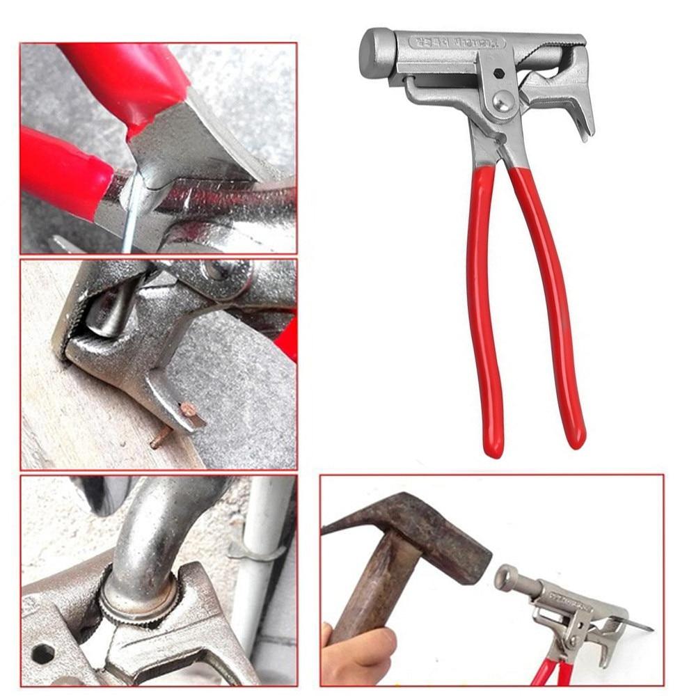Multi-função universal martelo chave de fenda elétrica tubulação do prego alicate chave braçadeiras pinças carpintaria fitter martelo ferramenta de mão