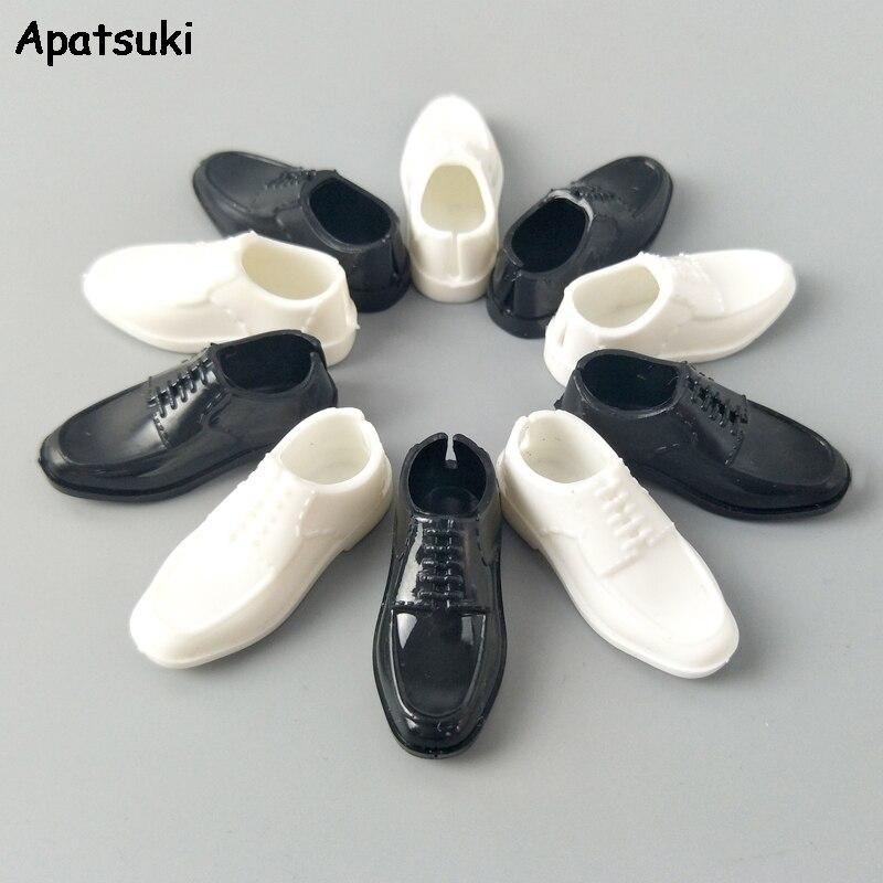 Zapatos de muñeca a la moda para Ken Boy, accesorios de muñeca 1/6, zapatos para Barbie, novio, príncipe Ken, muñeco para niños