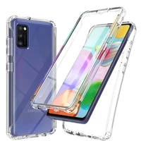 clear full cover for samsung galaxy a02s a12 a32 a42 a52 a71 a72 a21s a31 a41 a51 a71 s20 fe s21 plus a30s a50 m31 a10 soft case