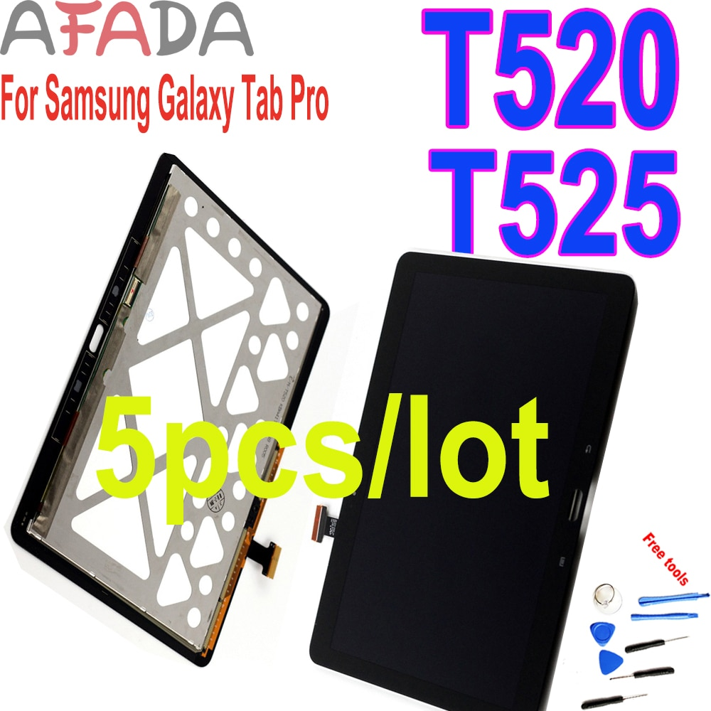 10pcs/lot Replacement LCD For Samsung Galaxy Tab Pro T520 SM-T520 T525 SM-T525 LCD Display Touch Screen Digitizer Assembly