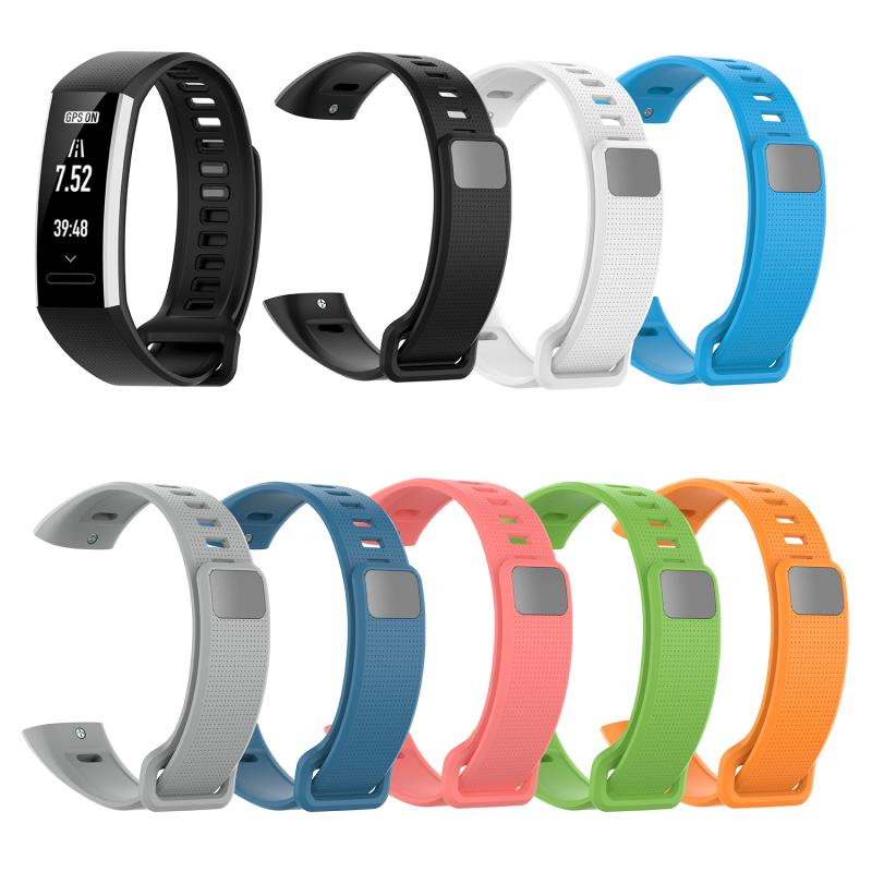Pulsera deportiva para Huawei Sports Bracelet Band2 Pro/Band2/ERS-B19/ERS-B29 Sports Rubber correa de repuesto