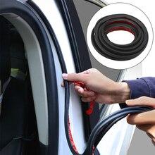 FORAUTO l-type isolation phonique bandes détanchéité voiture coffre bord étanchéité autocollants adhésifs voiture scellant Auto porte caoutchouc joint bande