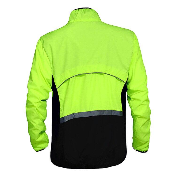 WOSAWE Men Cycling Motorbike Jacket Windproof Outdoor Sports Moto Raincoat Long Sleeve Cycling Jersey Bike Rain Resistance Coats enlarge