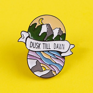 Adventure Brooches Outdoor Badges for Backpack Mountain Badges for Clothes Enamel Pins for Backpacks Clothes Lapel Pin Badge DIY