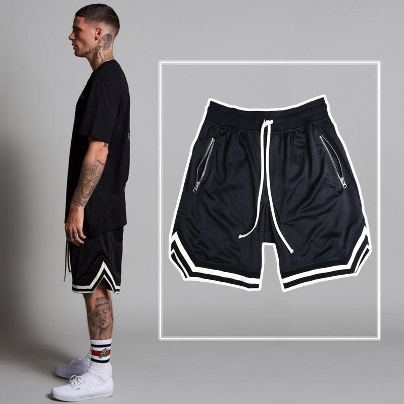 Hirigin 2020 Men's Casual Shorts Summer New Running Fitness Fast-drying Trend Short Pants Loose Bask