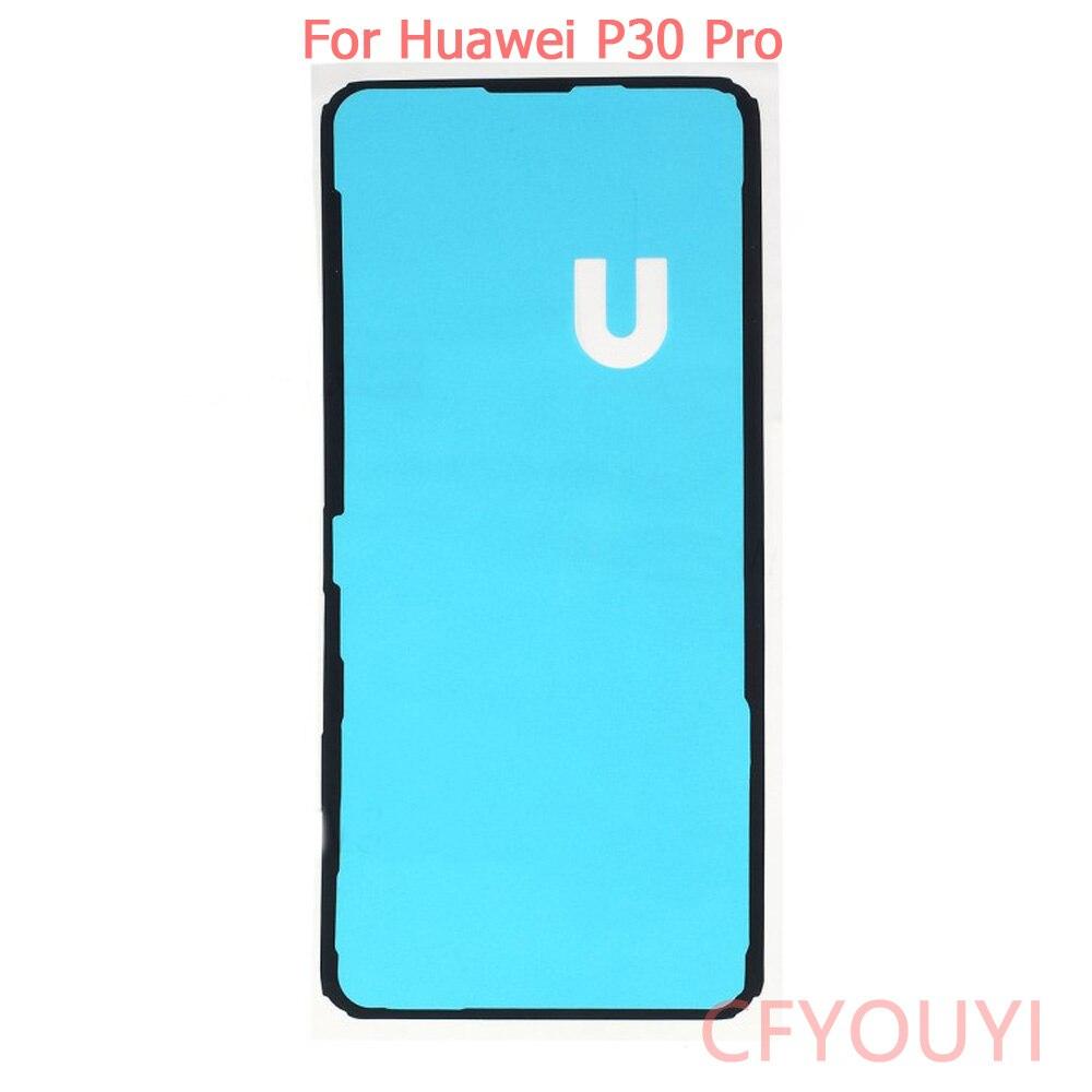 Para Huawei P30/P30 Pro/P30 Lite nueva batería cubierta trasera funda adhesivo para carcasa pegamento