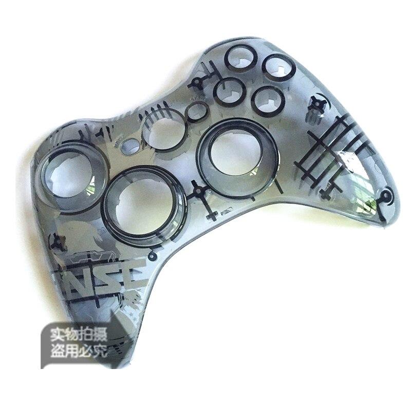 Edición limitada, repuesto de carcasa superior Halo, carcasa frontal, placa frontal para Xbox 360, pieza de reparación del controlador