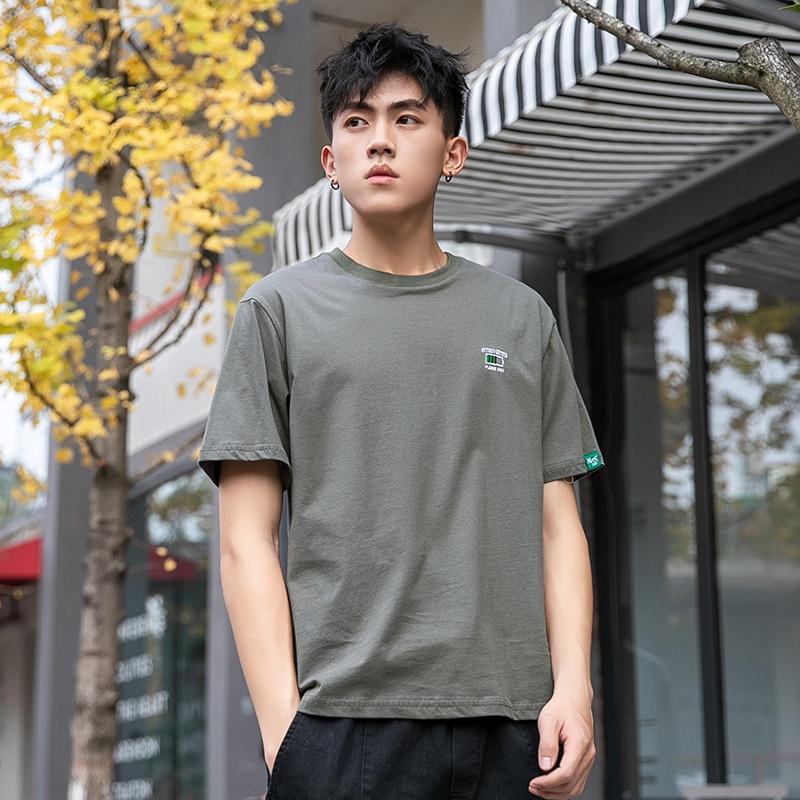 Camiseta de moda para hombre y ajustada y fina de patrón regalos...