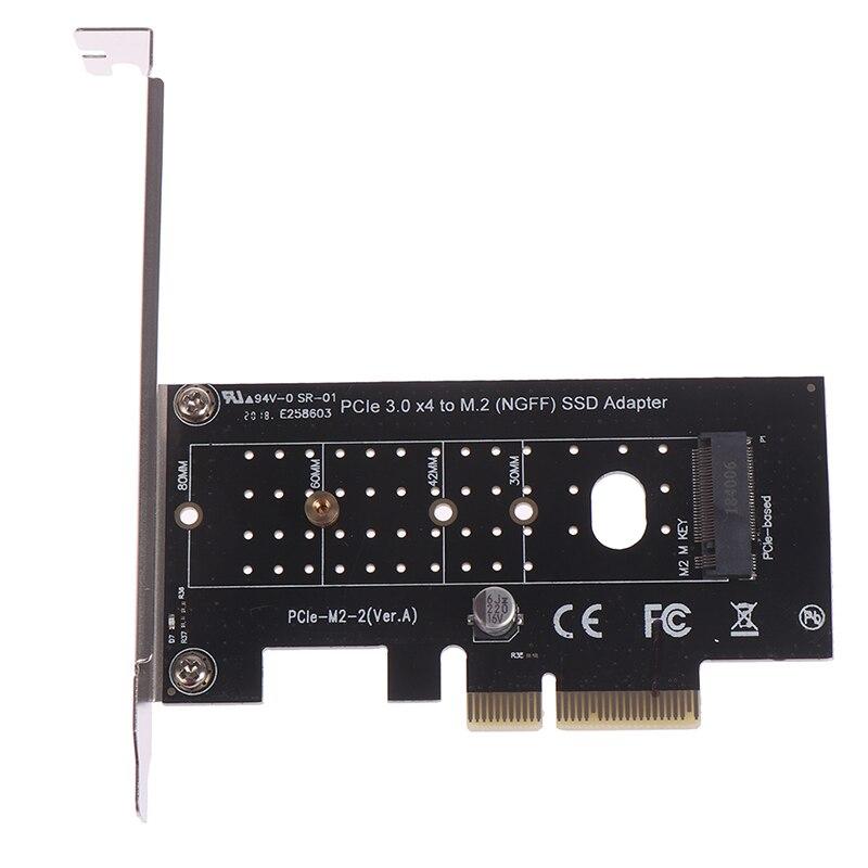 PCI-E 3,0 X4 a M.2 NVMe SSD NGFF Pcie M2, adaptador de tarjeta elevadora Ssd de conversión