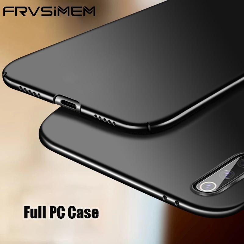 Funda ultrafina para Xiaomi Mi 9 9T Pro Mi 8 Lite Mi A3 A2 A1 Mi9T Pro Note 10 Mi 9 Lite Mi9 policarbonato duro esmerilado contraportada