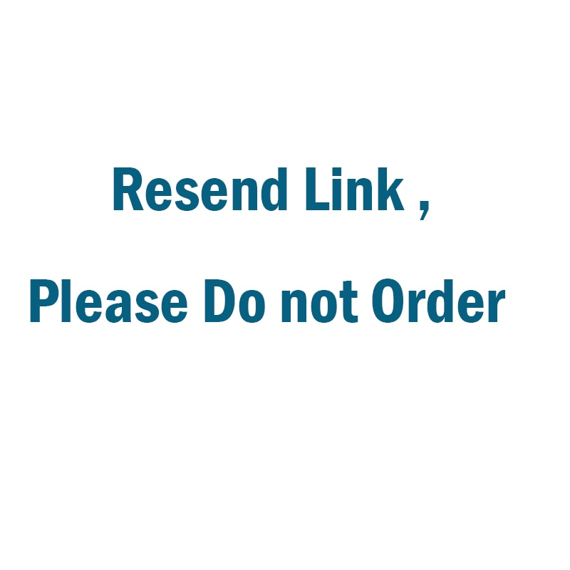 Resend link , Please do not place an order недорого