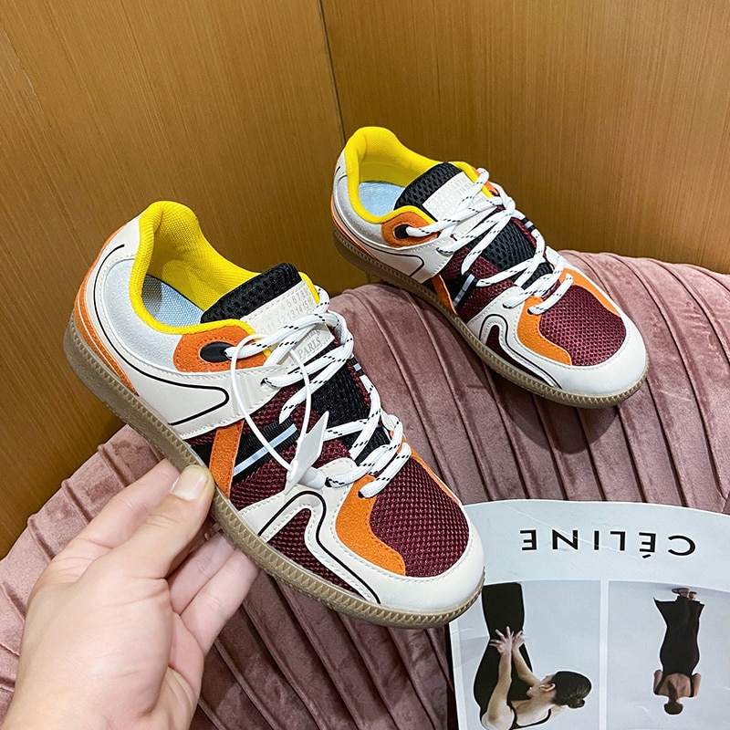 Women Chunky Sneakers Platform 2021 Fashion Spring Breathable Comfort Running Casual Couple Sport Sh