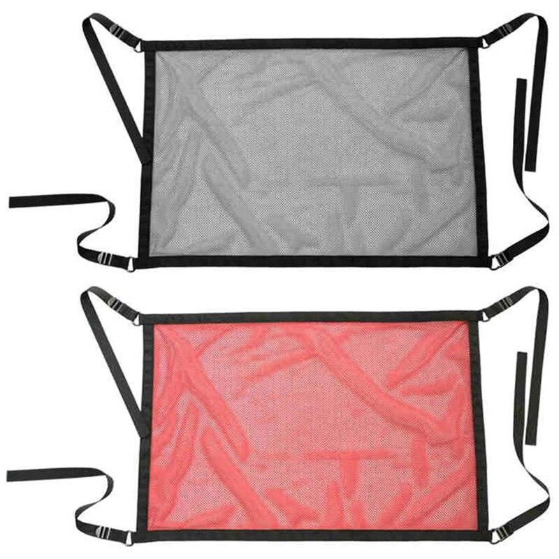 Автомобильный потолок для хранения сетчатый карман Organizador Автомобильный багажник для хранения салона автомобиля Грузовой сетчатый мешок д...