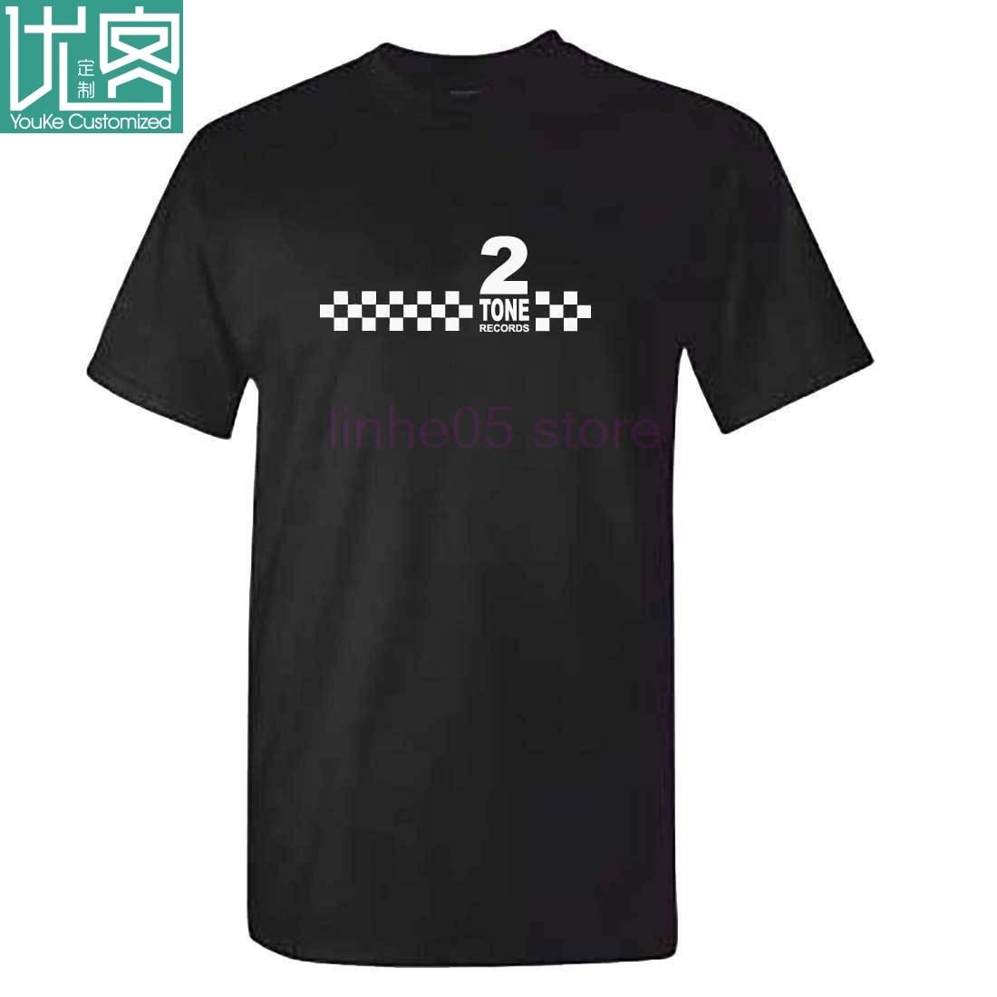 Camiseta para hombre con 2 tonos de música, ropa de Reggae