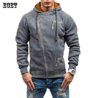 mens clothing 2021 new mens hooded sweater personalized side zipper jacket tops streetwear fashion casual hoodie