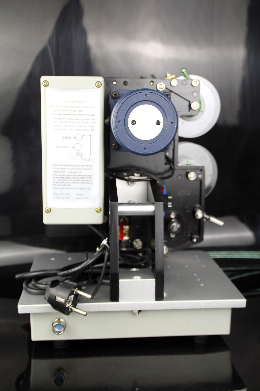 Электрический принтер кодер даты полуавтоматическая Пластик сумка высекательный пресс машины для печати и кодирования теснением под давл...