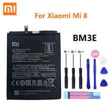 Аккумулятор BM3E для Xiaomi Xiaomi8 Mi 8 Mi8 M8, 100% мАч