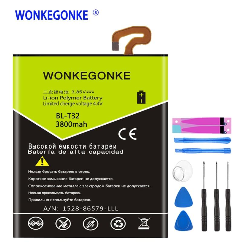WONKEGONKE BL-T32 батарея для LG G6 G600L G600S H870 H871 H872 H873 LS993 US997 VS988 батареи для мобильных телефонов
