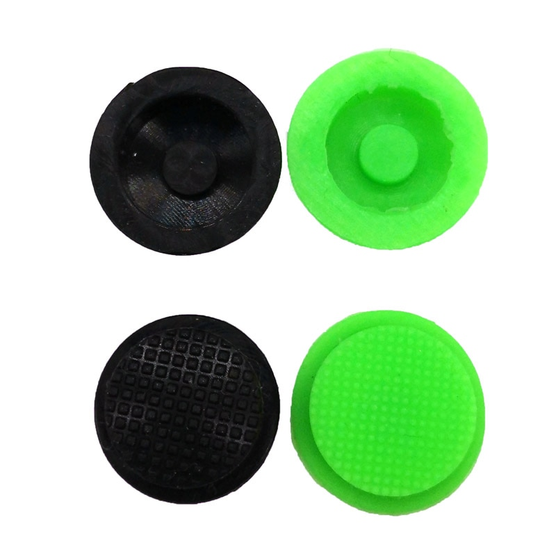 2PCS New C8 Flashlight Switch Caps Black/ Green Waterproof Rubber Pad Button Cap Light 17.6mm Torche