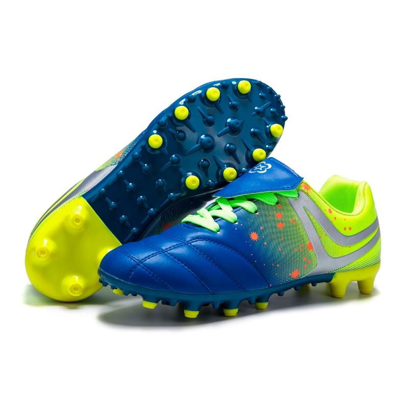 Zapatillas de fútbol al aire libre para niños y niñas, botines TF/FG, botas de fútbol Entrenamiento de fútbol, zapatillas deportivas para niños