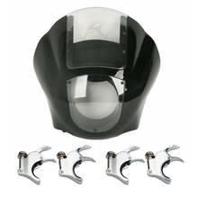 Pince à fourche pour Harley Sportster XL 1200 Dyna   Carpette de phare quart de moto 39 49mm