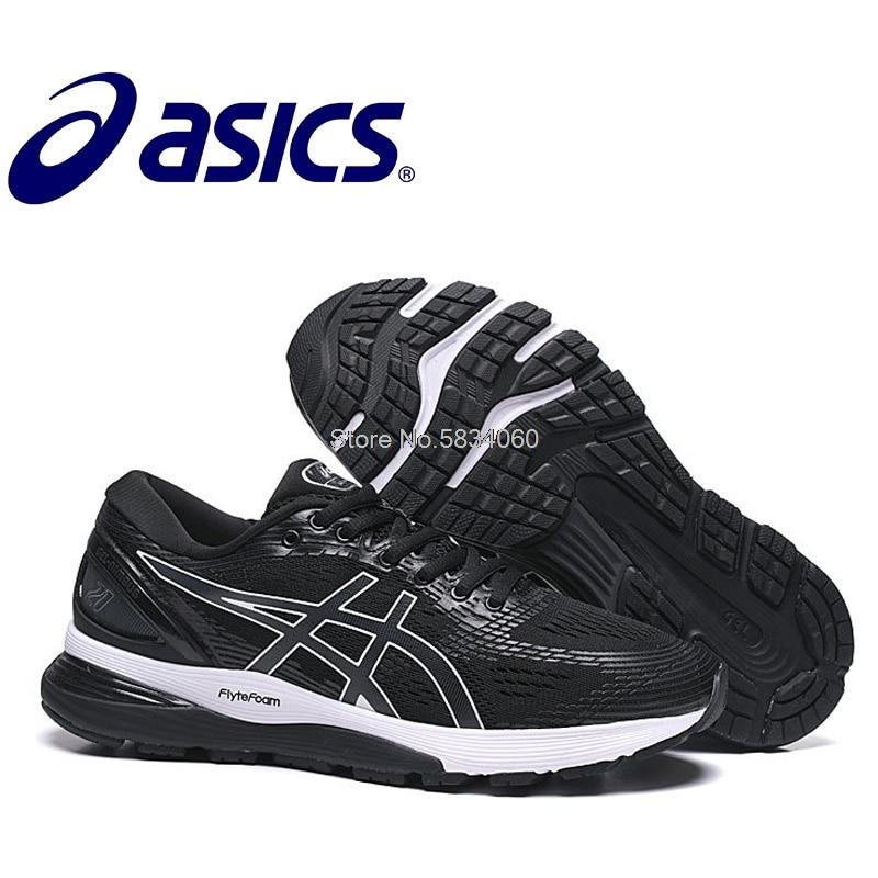 Gel Nimbus 21-Zapatillas deportivas transpirables para Hombre y calzado deportivo 2020 Original
