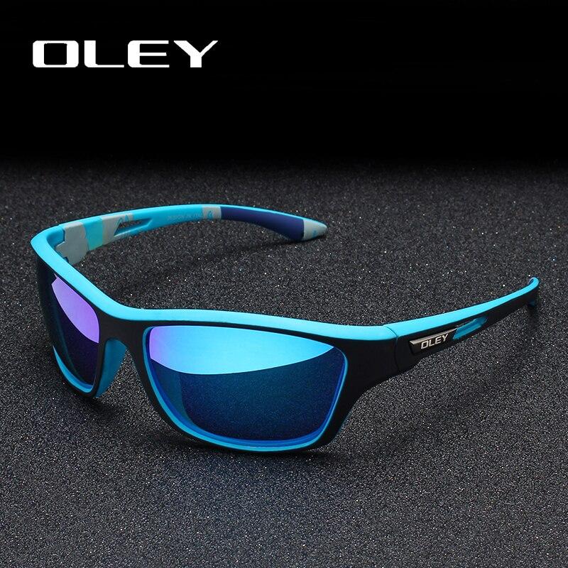 Oley polarizado óculos de sol condução dos homens máscaras esportes ao ar livre para homem marca de luxo designer oculos personalizável logotipo yg202
