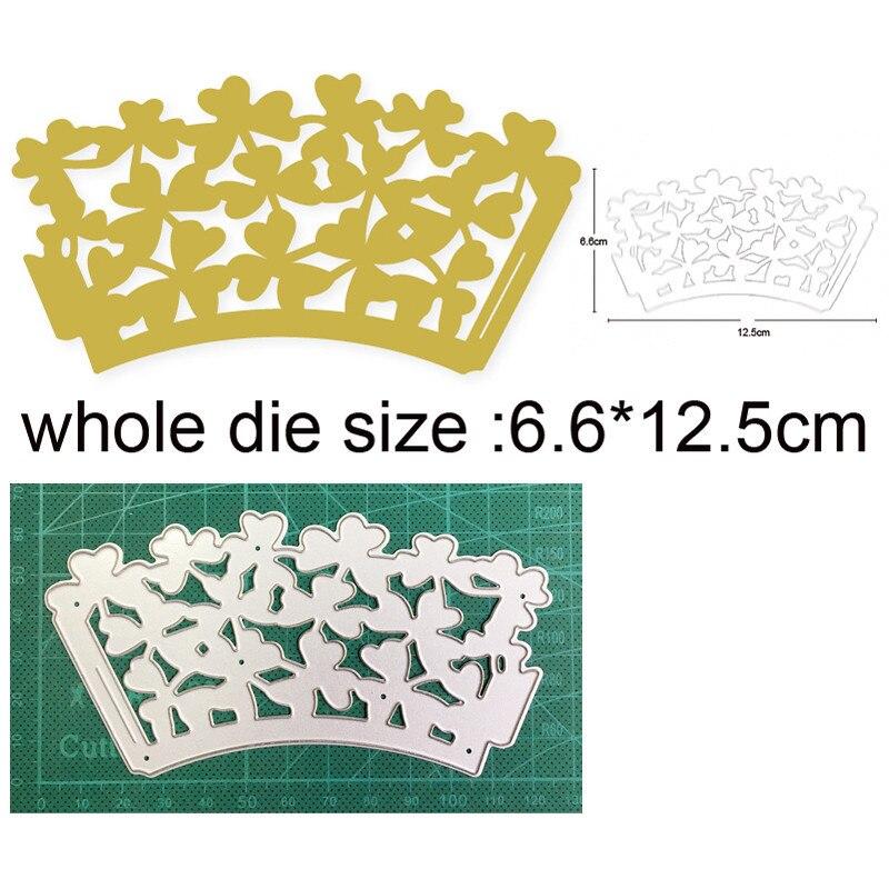 Металлические пресс-формы для рукоделия, форма для вырезания, цветок, лист, рамка, скрапбукинг, штампы для бумаги, нож для рукоделия, лезвие, ...