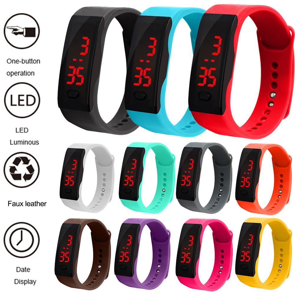 Pulsera deportiva, relojes inteligentes Digitales Electrónicos para mujer 2020, reloj de pulsera para mujer, reloj de pulsera femenino, relojes Hodinky