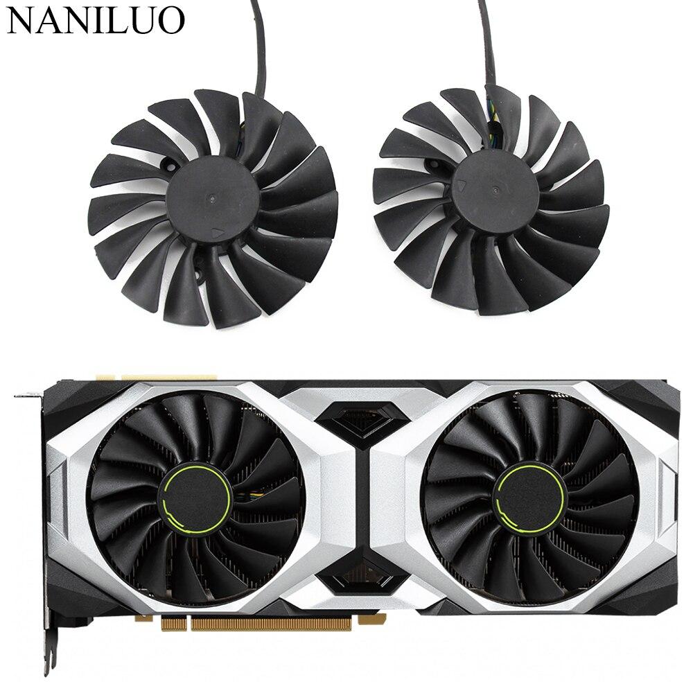 PLA09215B12H 12V 0.55 RTX 2080 Ti VENTUS OC Graphic Cooler fan for MSI Geforce RTX  2080Ti 2080 Super Video Card Fan