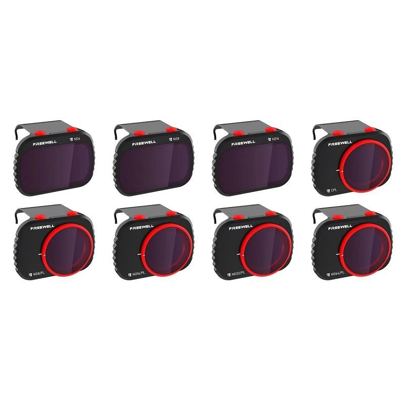 Freewell-فلاتر متوافقة مع Mavic Mini/Mini 2 Drone ، حزمة من 8 مرشحات ، سلسلة 4K