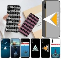 hpchcjhm subnautica alterra phone case for huawei honor 30 20 10 9 8 8x 8c v30 lite view pro