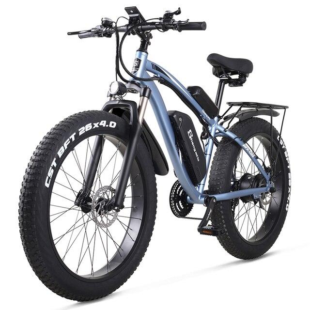 Shengmilo Электрический велосипед 1000 Вт Мужской горный велосипед Снежный велосипед электрический велосипед Ebike 48V17Ah Электрический велосипед 4,0 толстые шины электрический велосипед | Спорт и развлечения | АлиЭкспресс