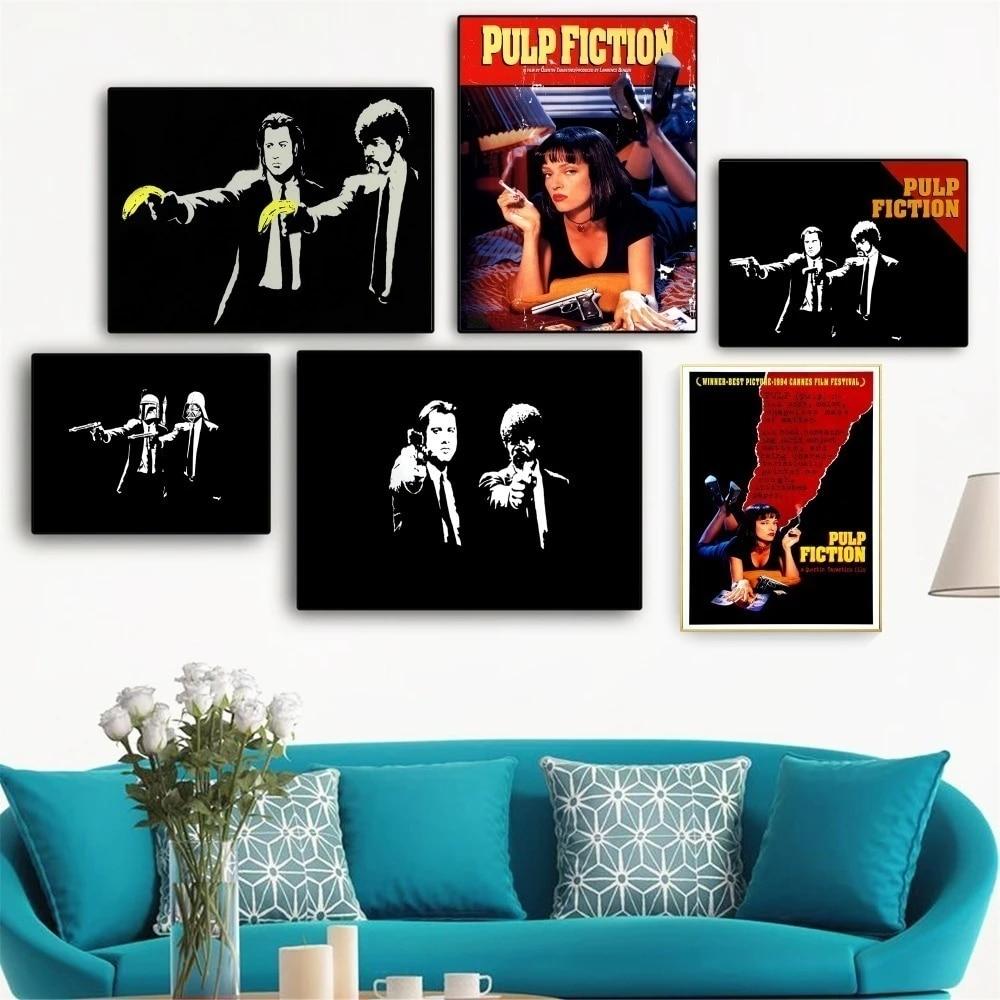 Художественная живопись, винтажный постер и печать на холсте из целлюлозы, настенные картины для гостиной, украшение для дома, без рамки