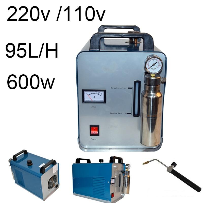 220V/110V Acrylic Flame Polishing Machine Electric Grinder 95L/H Polisher Crystal Word Mirror Plexiglass Jewelry Polishing H180