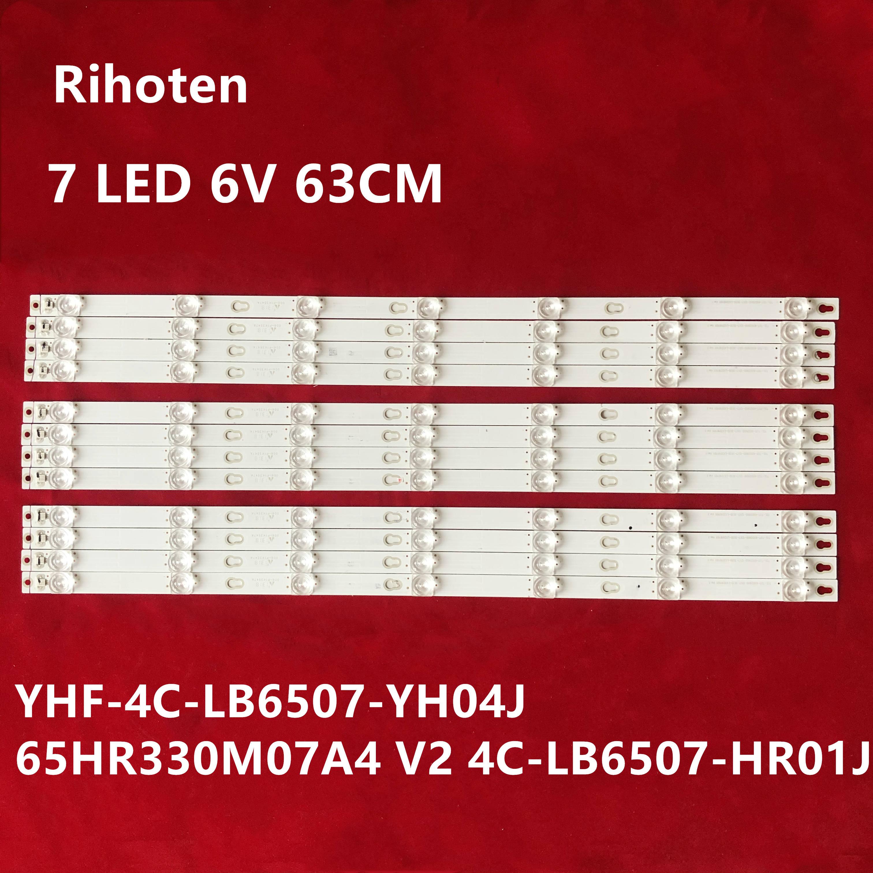 Para TCL L65E5800A-UD L65P2-UD 65A730U D65A620U Luz de tira 65HR330M07A4 V2 4C-LB6507-HR01J pantalla LVU650NDIL